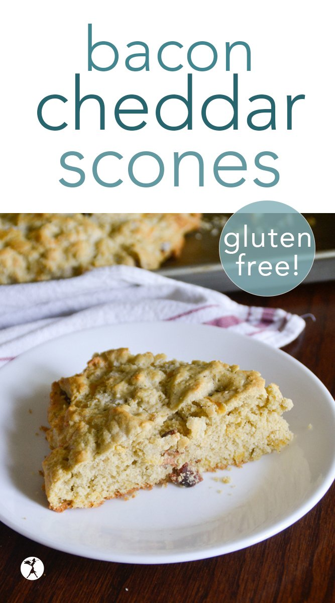 Gluten-Free Bacon Cheddar Scones #glutenfree #sugarfree #breakfast #bacon #cheddarcheese #scones #brunch