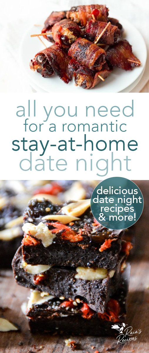 From one tired parent to another, here's all you need for a romantic stay-at-home date night - complete with 20 grain-free treats. #datenight #valentinesday #romantic #grainfree #glutenfree #realfood #treats