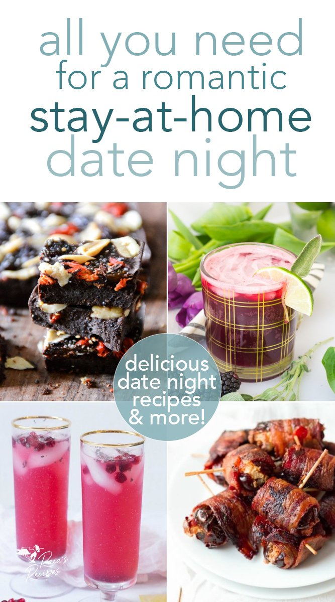 All you need for a romantic stay-at-home date night. #datenight #valentinesday #romantic #grainfree #glutenfree #realfood #treats