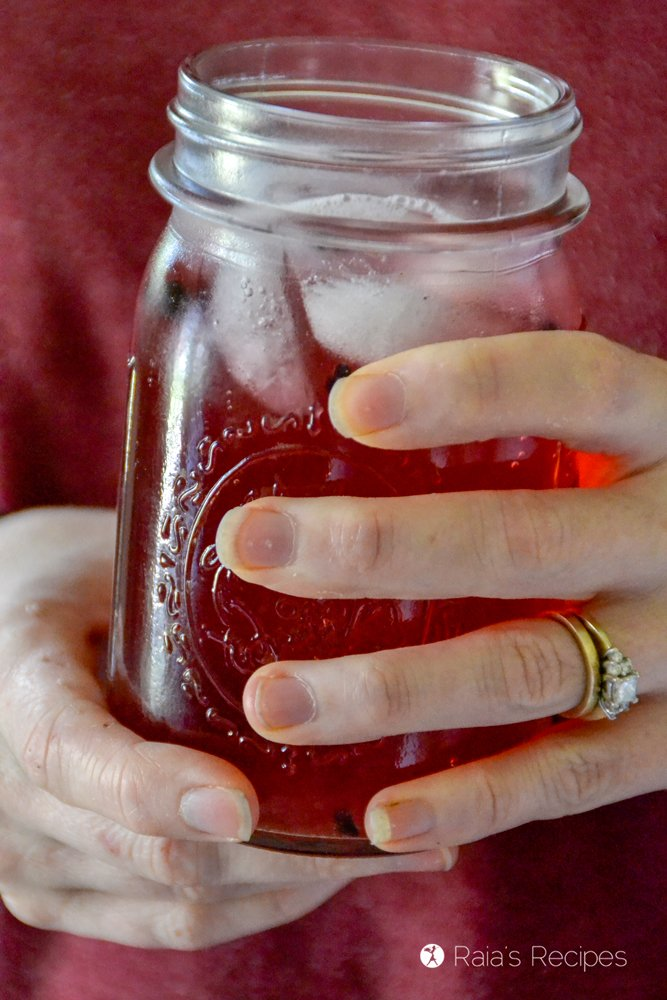 Probiotic Elderberry Water Kefir 5