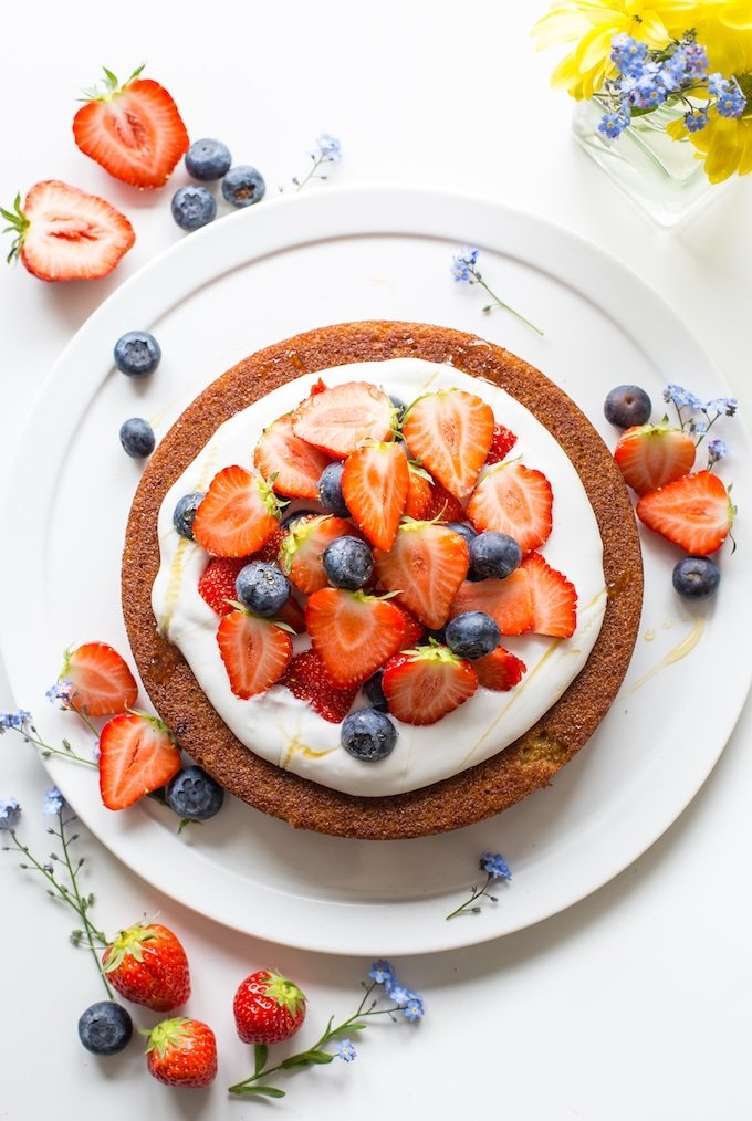 delicious gluten-free cakes round-up coconut flour cake