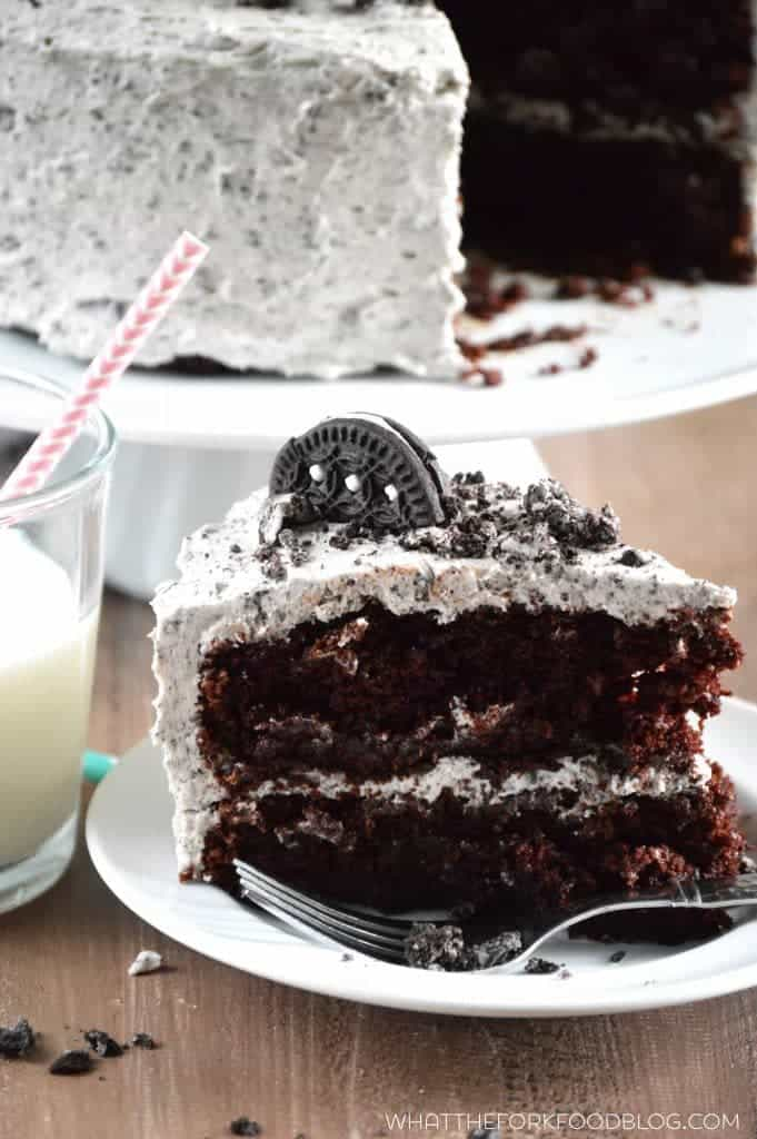 delicious gluten-free cakes round-up chocolate cookies & cream cake
