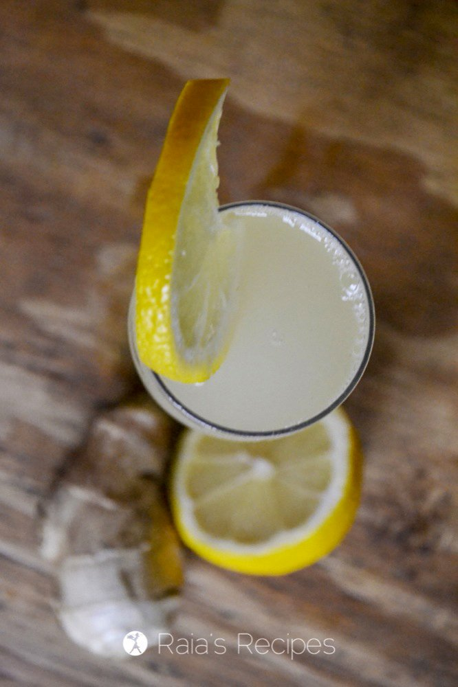 Fizzy Ginger Lemonade profile top