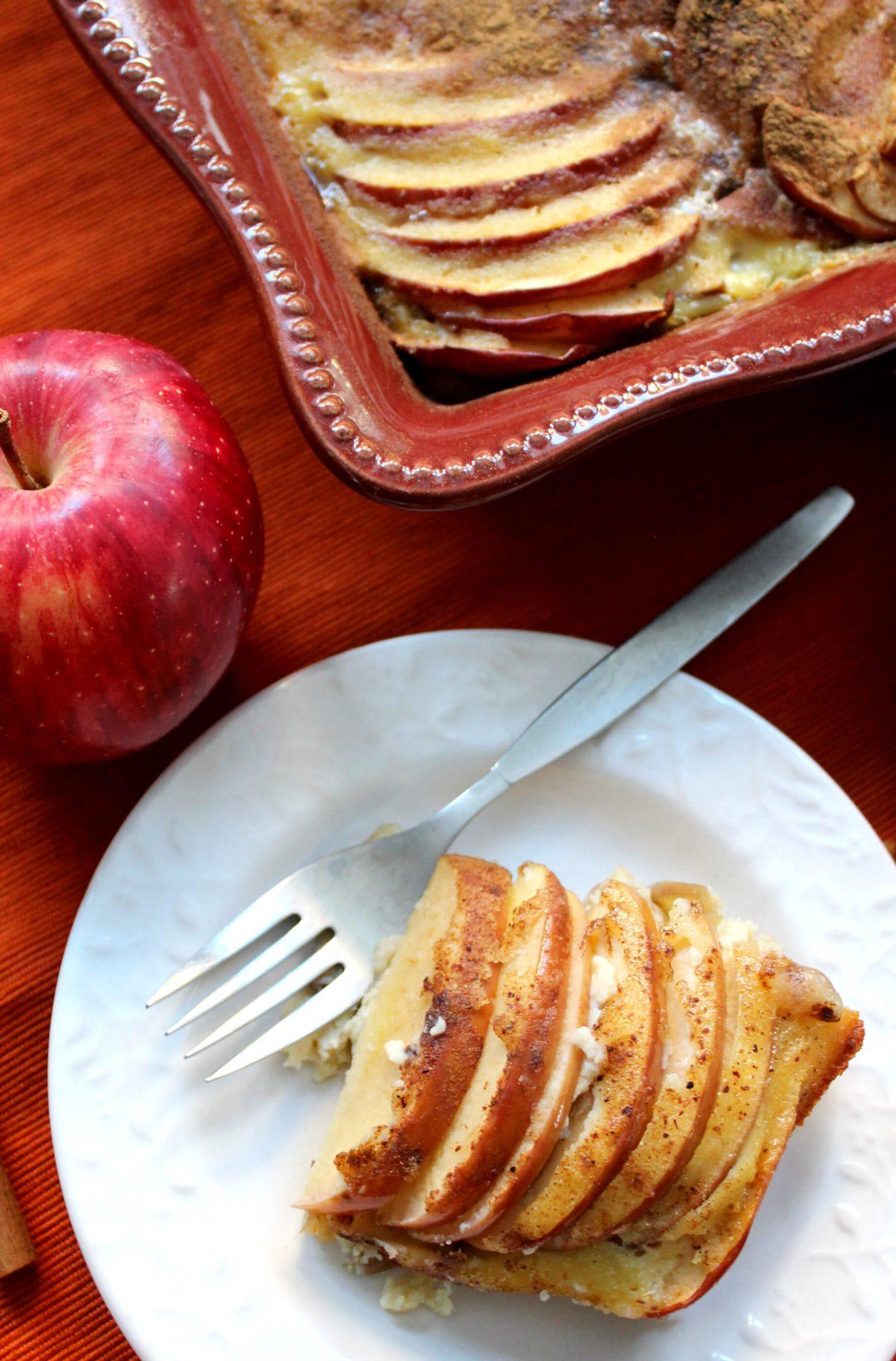 Apple Cinnamon Kugel