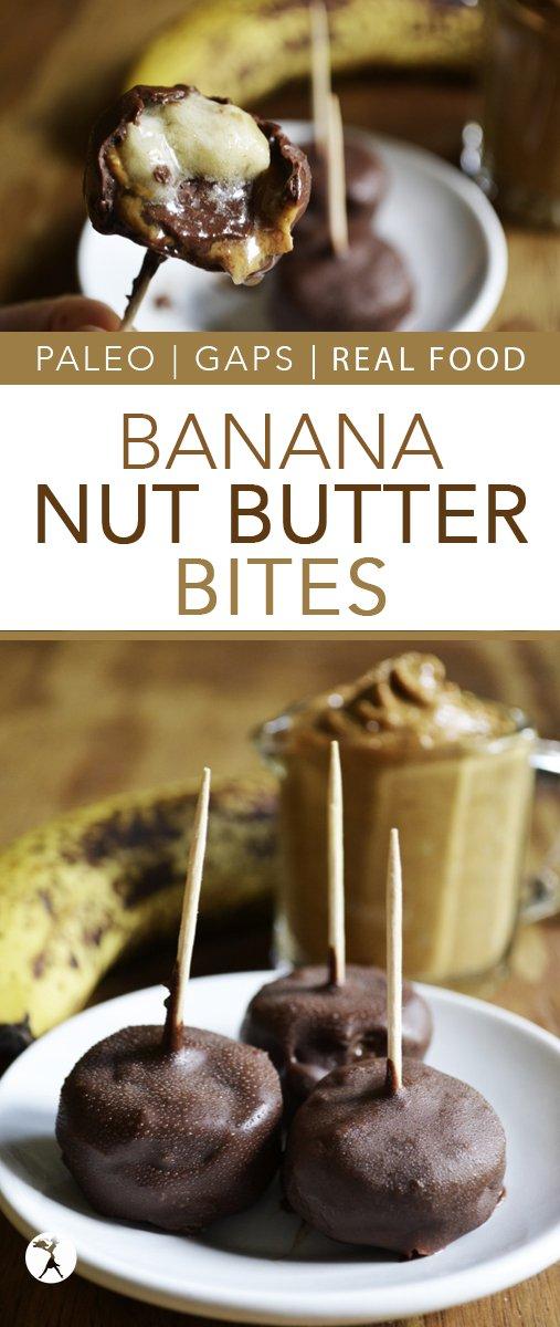 Banana Nut Butter Bites