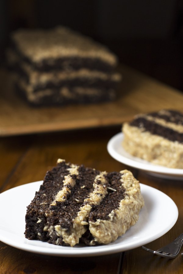delicious gluten-free cakes round-up german chocolate cake