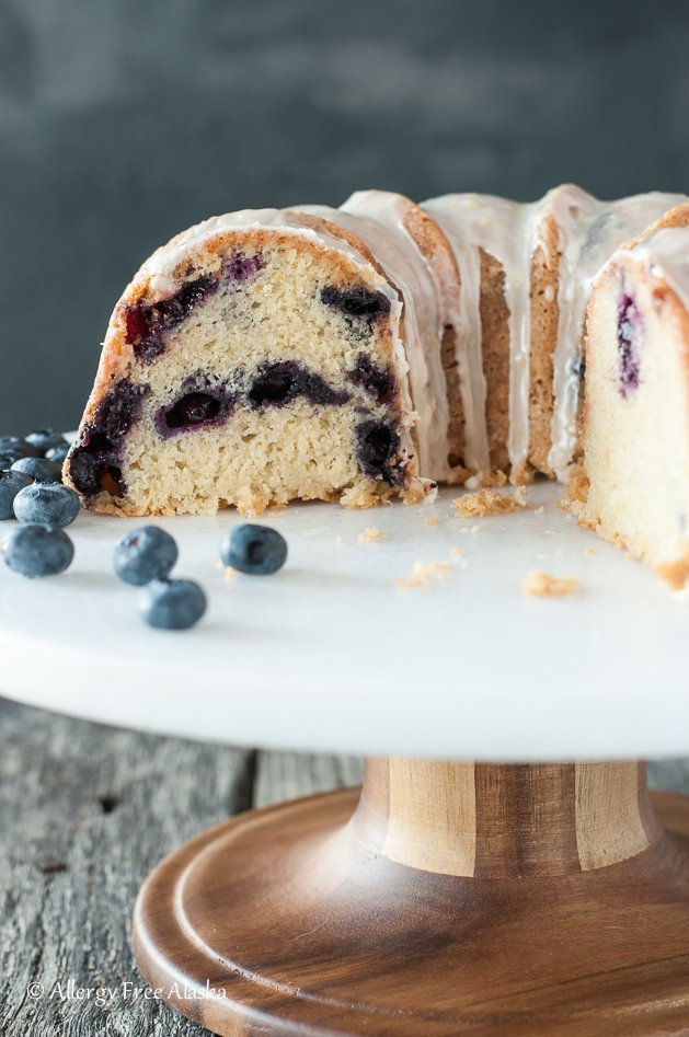 delicious gluten-free cakes round-up blueberry lemon bundt cake