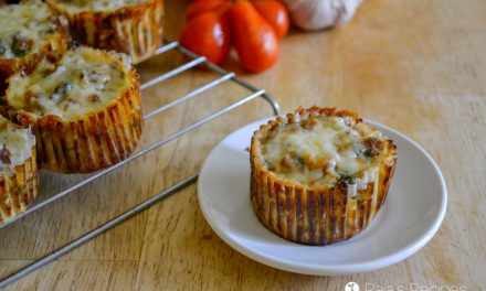 Pizza Meat Muffins