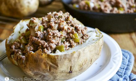 Sloppy Joe Baked Potatoes