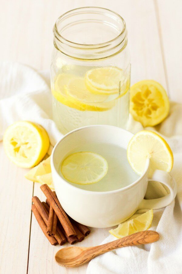 hot garlic ginger lemonade from recipes to nourish