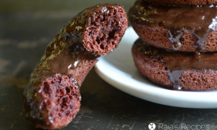 Cheater Red Velvet Donuts