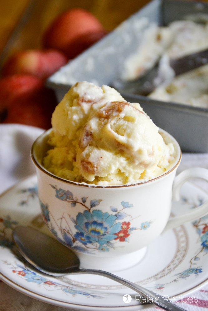 gluten-free Thanksgiving dessert ice cream