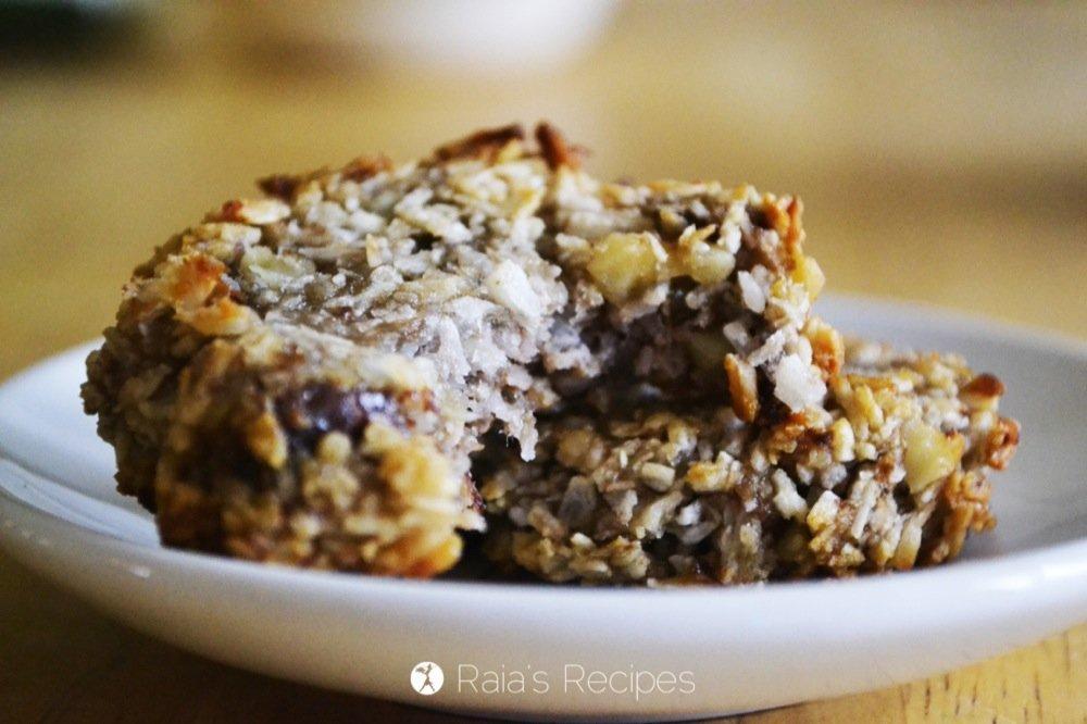 Banana Coconut Cookies | RaiasRecipes.com