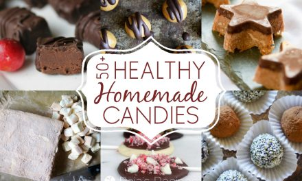 50+ Healthy Homemade Candies