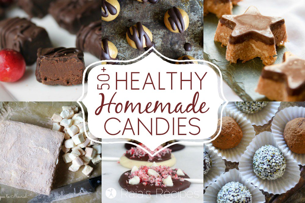There's no need to compromise your health to satisfy your sweet tooth this holiday season with these 50+ Healthy Homemade Candies!