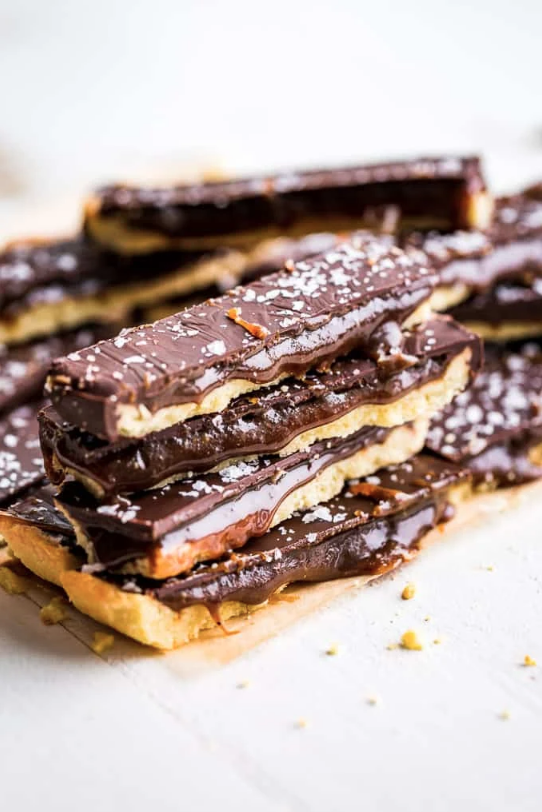 Paleo Twix Bars from Get Inspired Everyday
