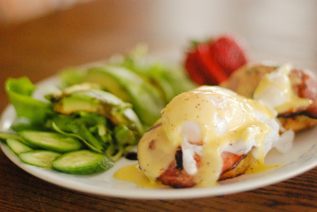 Paleo Eggs Benedict from the Primal Desire