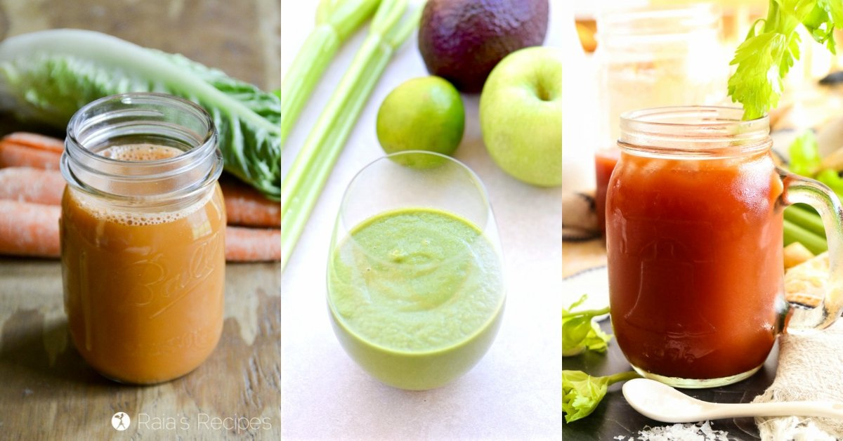 20+ Nourishing Smoothies, Teas, & Juices to Safely Detox