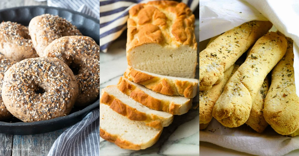 Delicious Savory Gluten Free Breads
