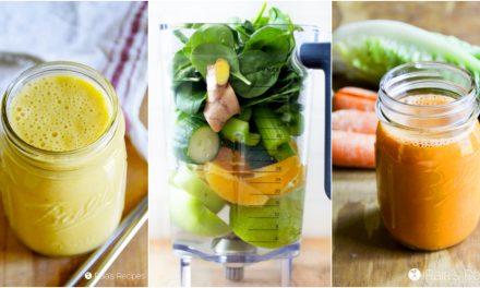 20+ Nourishing Smoothies, Teas, & Juices to Safely Detox