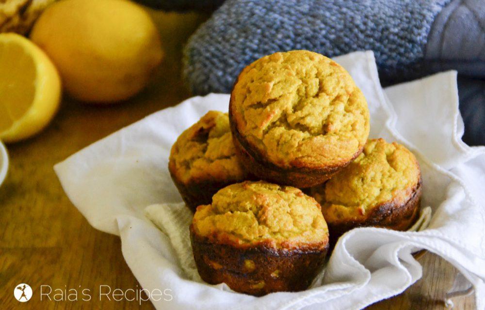 Banana Lemon Muffins