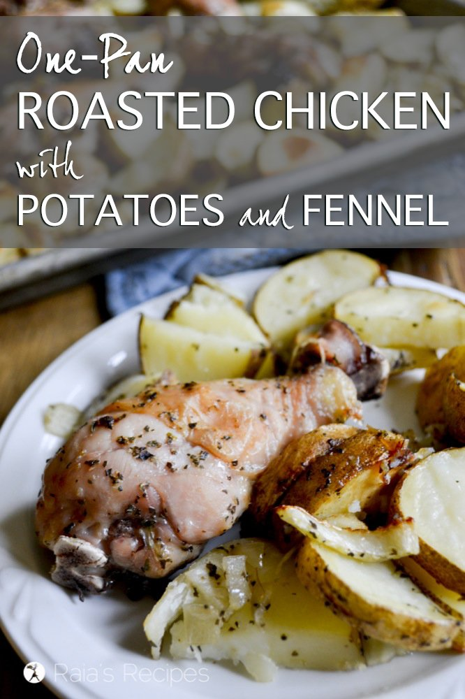 One-Pan Roasted Chicken with Potatoes and Fennel