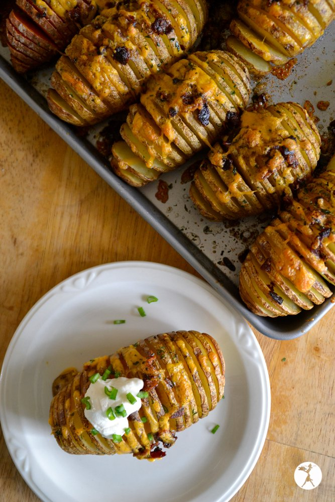 hasselback potatoes 1