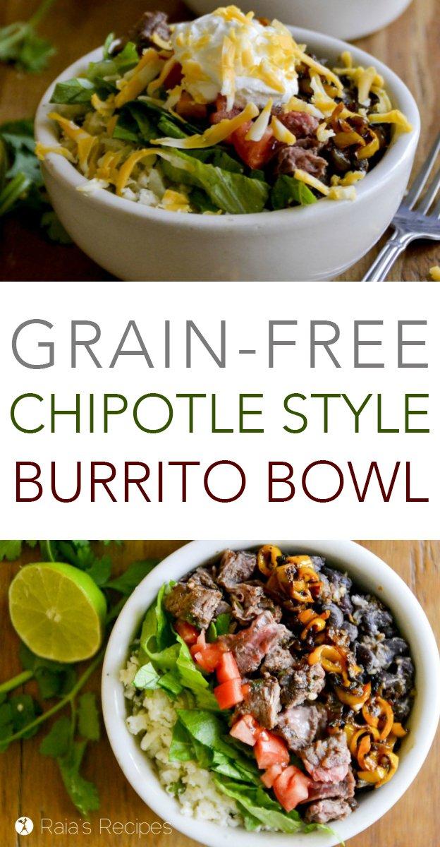 #grainfree #Chipotle style #burrito bowl