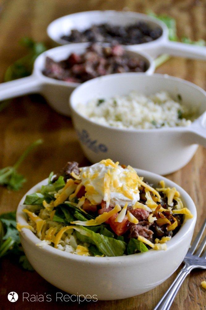 grain-free burrito bowl