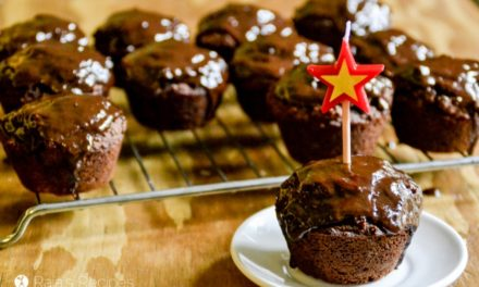 Dark Chocolate Cupcakes with Chocolate Frosting