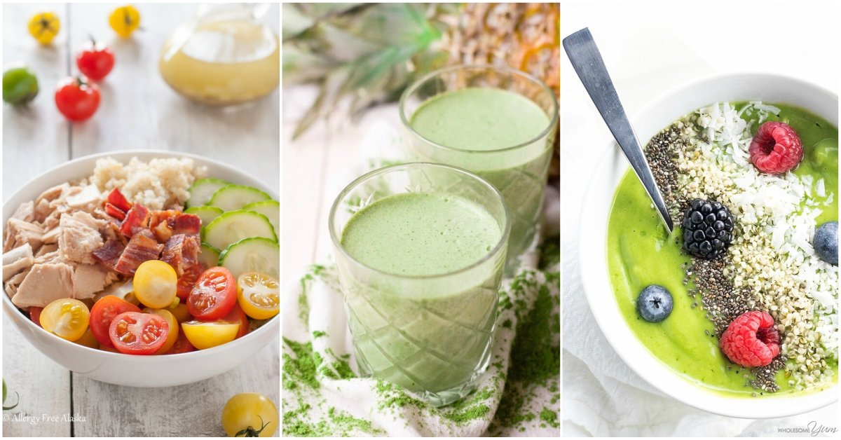 Healthy, No-Bake Breakfasts & Lunches
