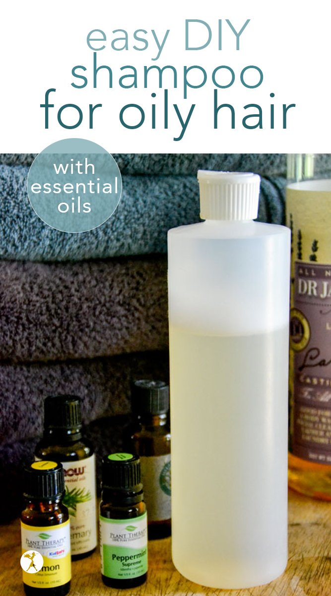 Are you tired of toxins in your shampoo, but still need something to tame the grease? This easy, DIY shampoo for oily hair is free of non-toxic ingredients and promotes healthy, clean hair. #diy #haircare #naturalhaircare #essentialoils #shampoo #homemadeshampoo #nontoxic #healthyliving #diyshampoo #oilyhair