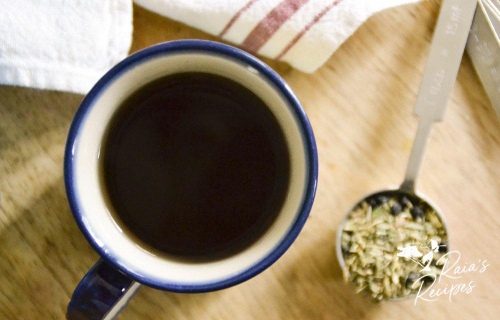 Herbal Immune-Boosting Sore Throat Tea