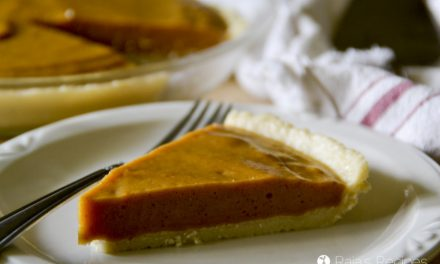 Paleo No-Bake Maple Pumpkin Pie
