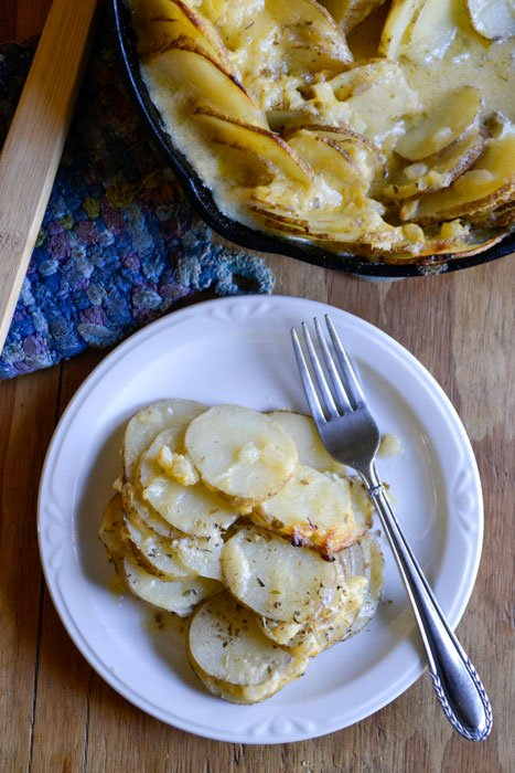 scalloped potatoes 3