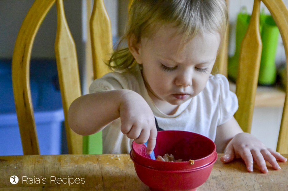 Soaked Maple Apple Baked Oatmeal kid