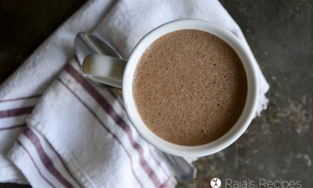 Buttered Chai Hot Chocolate