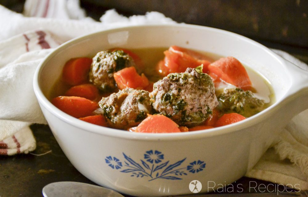 Spinach & Garlic Meatballs in the Instant Pot