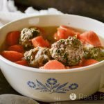 GAPS Intro Stage 1: Spinach & Garlic Meatballs in the Instant Pot