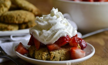 Honey Sweetened, Grain Free Strawberry Shortcake