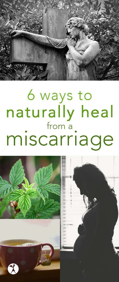 If you're struggling through a miscarriage, looking for answers, or have a friend who is, here are 6 ways to naturally heal from a miscarriage. #miscarriage #naturalhealth #healing #naturalremedies #pregnancy #grief