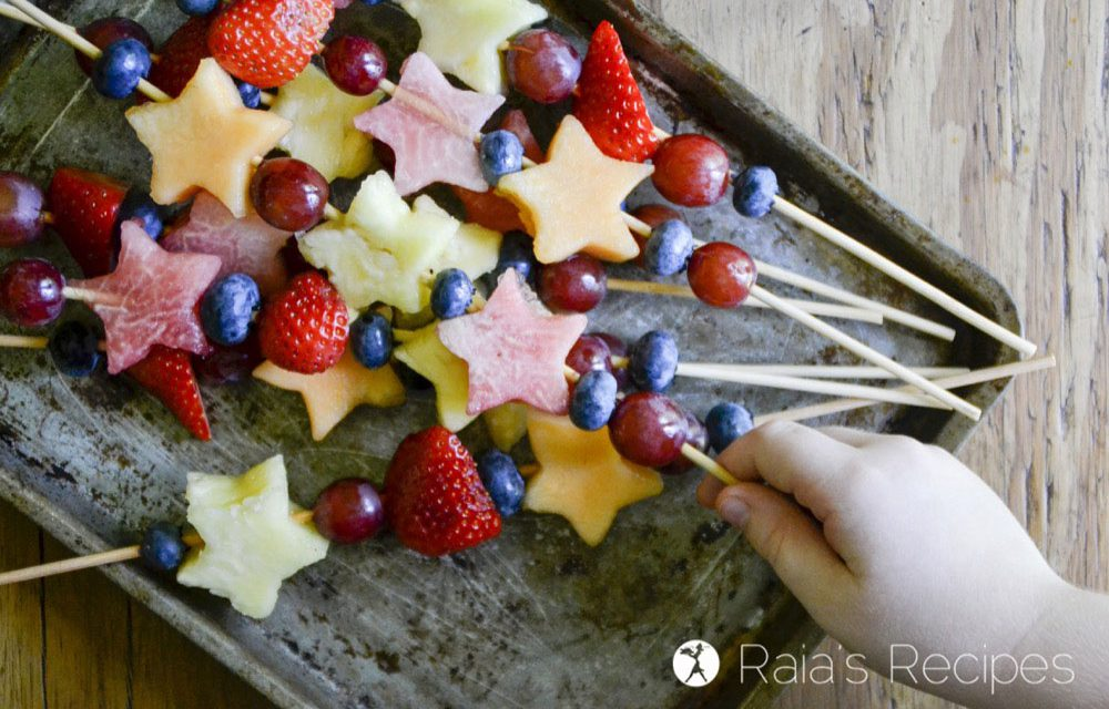 Kid-Friendly Fruit Kabobs