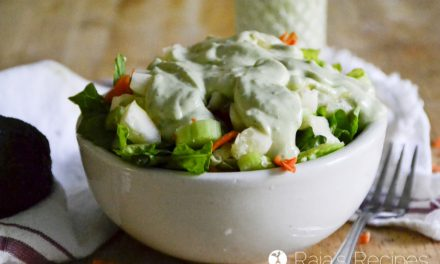 Creamy Buttermilk Avocado Dressing
