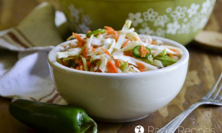 Spicy Curtido Coleslaw