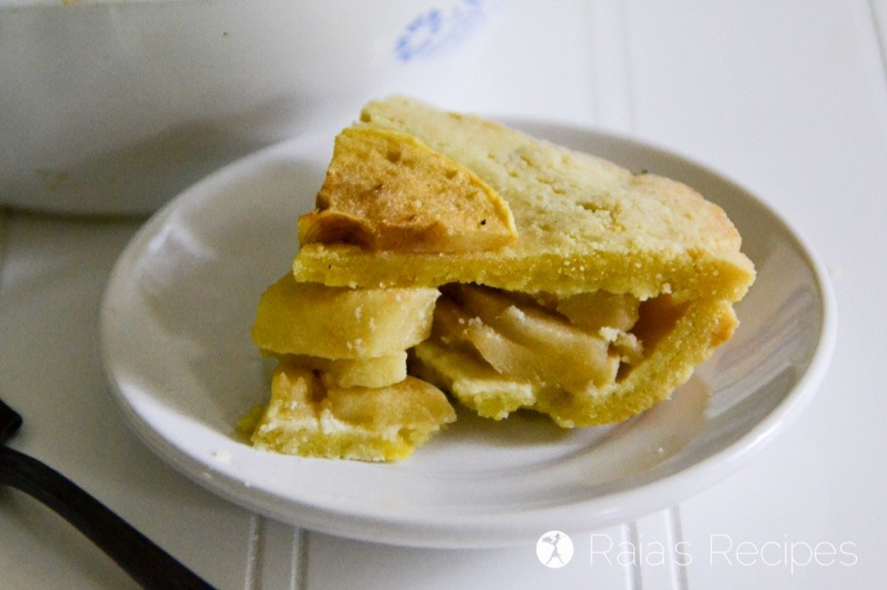 Personal Pan Apple Pie