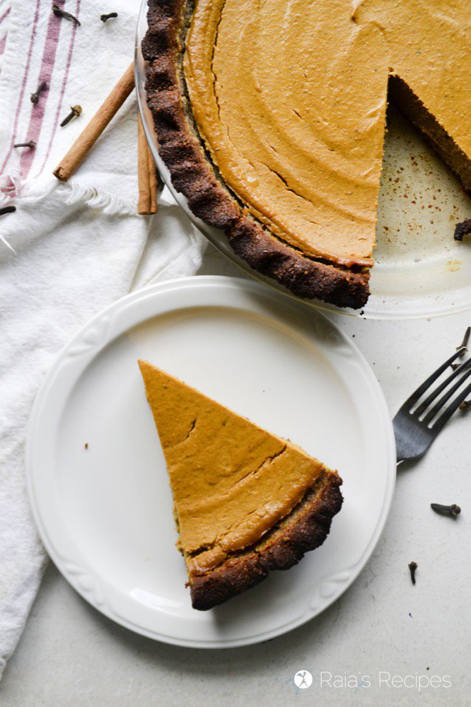 gluten-free Thanksgiving dessert pumpkin pie