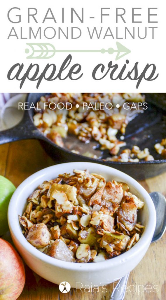 Almond Walnut Apple Crisp