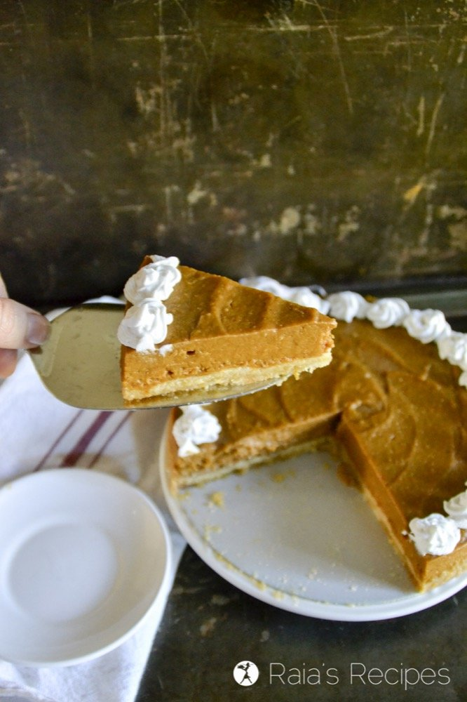 Honey Orange Pumpkin Pie in the Instant Pot