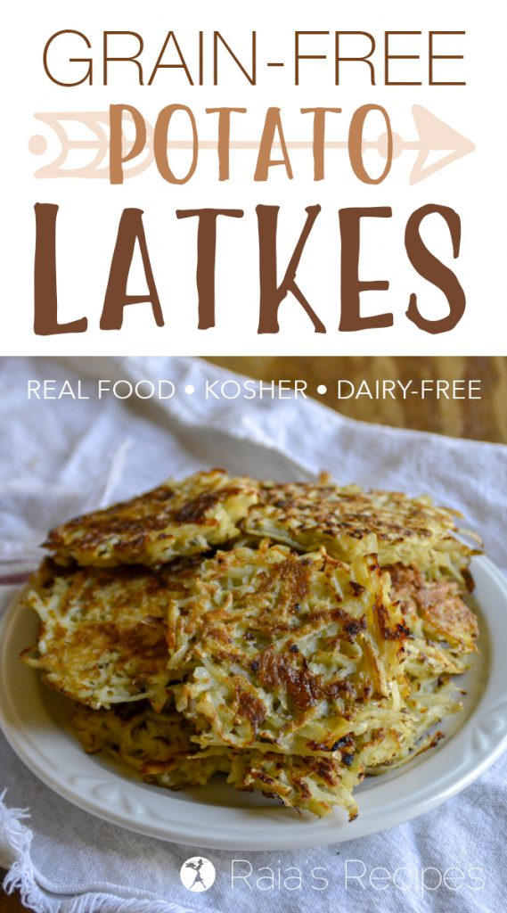 Grain-Free Potato Latkes with Onions and Garlic
