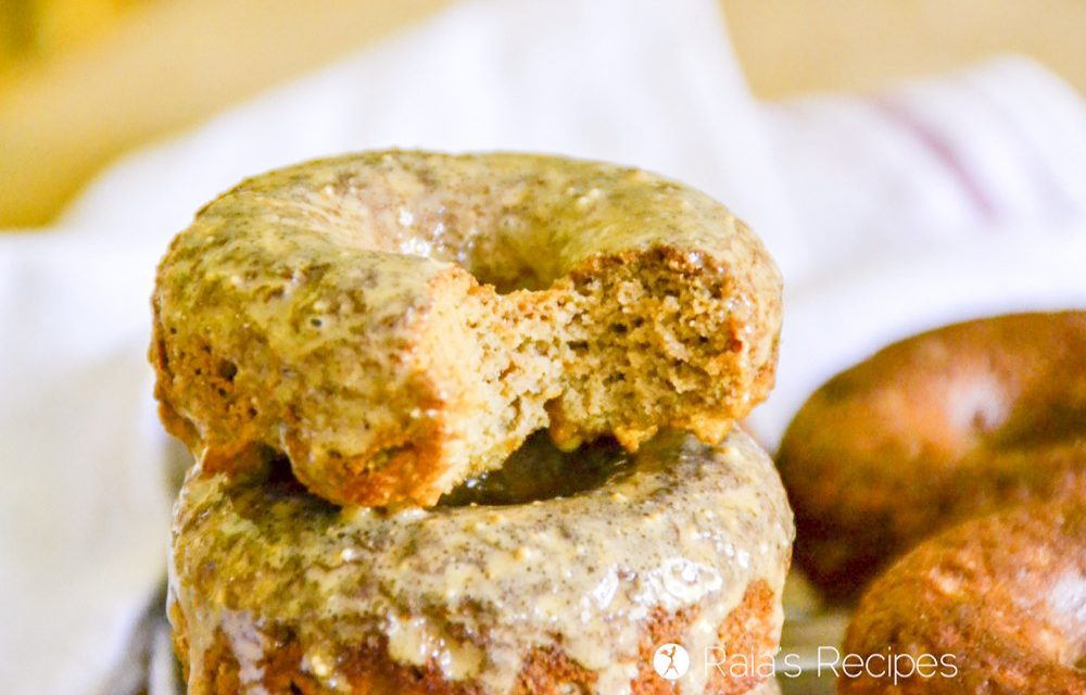 Masala-Spiced Apple Donuts